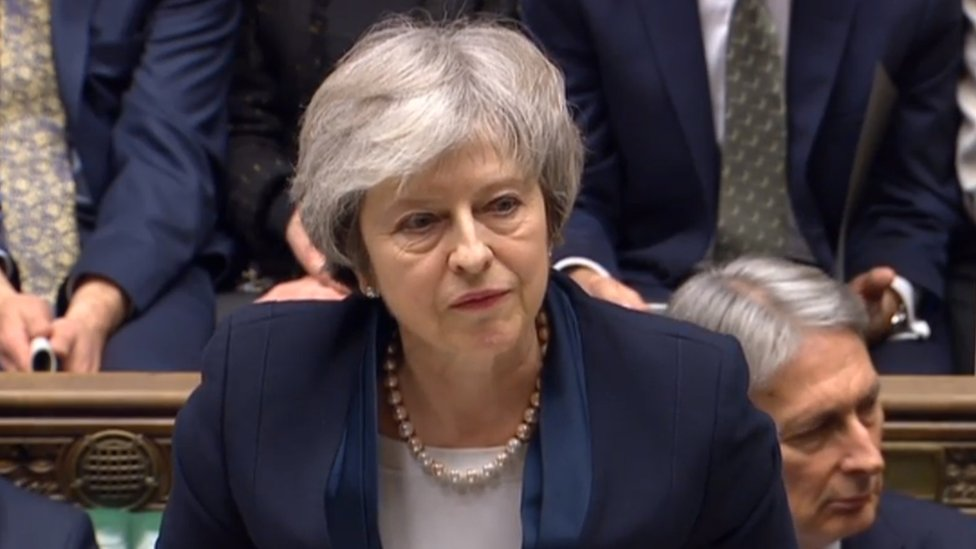 Theresa ay, primera ministra de Reino Unido