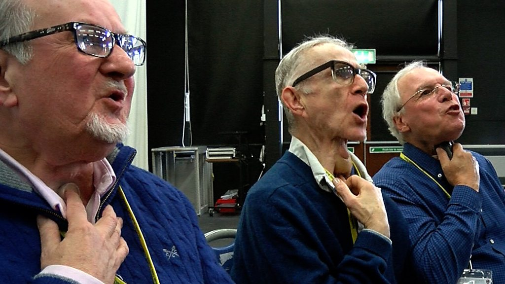 Laryngectomy patients learn to sing without a voice box