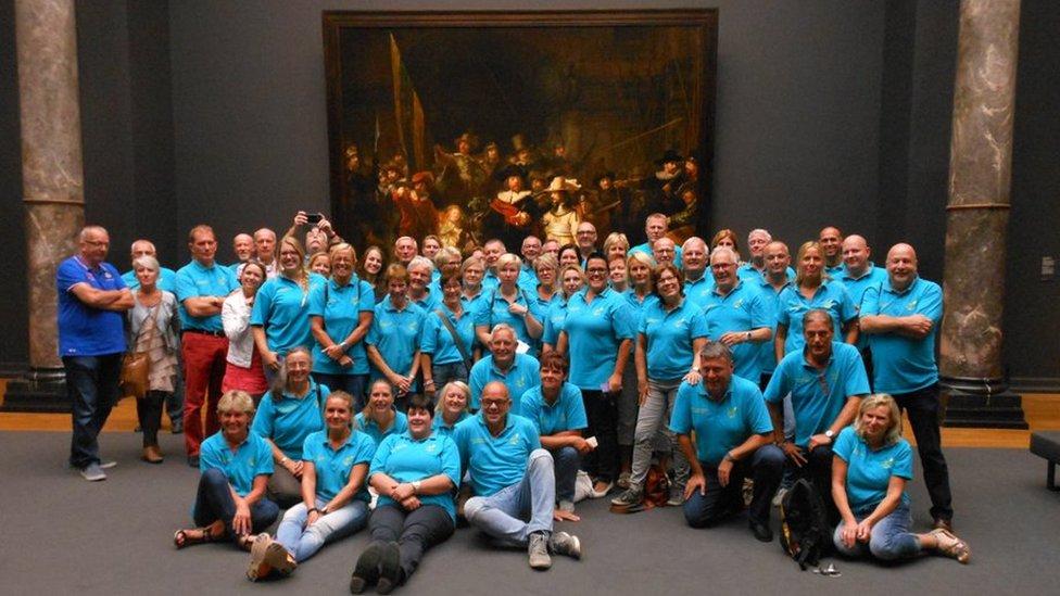 The volunteers at the Rijksmuseum