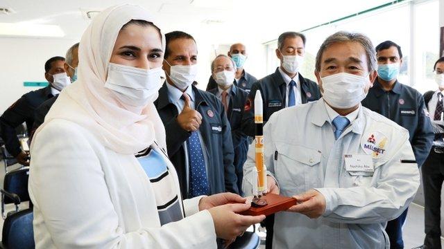 Sarah Al Amiri and Naohiko Abe, Mitsubishi Heavy Industries
