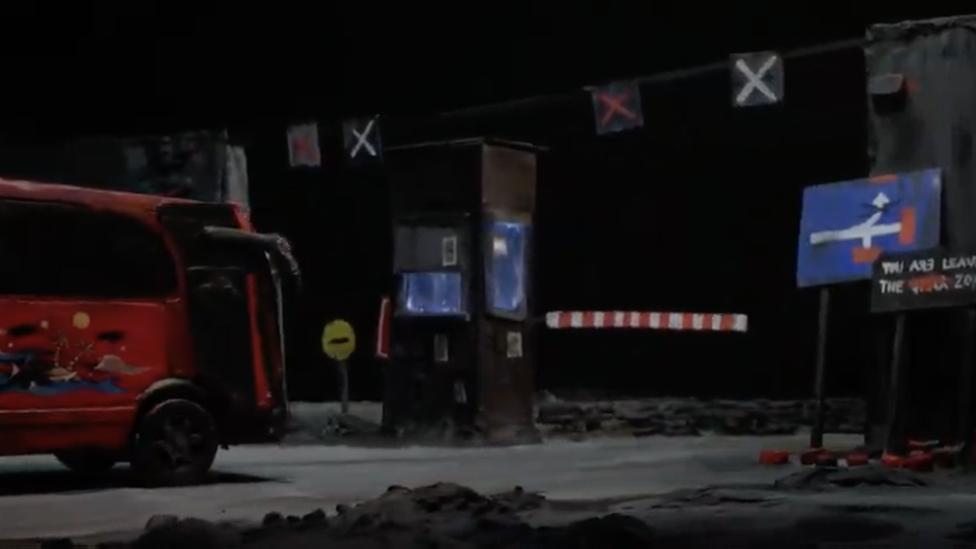 Fotografija iz filma Neputovanja