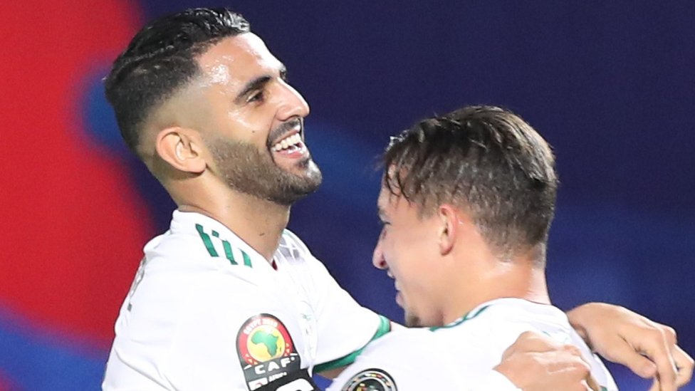 Manchester City and Algeria winger Riyad Mahrez
