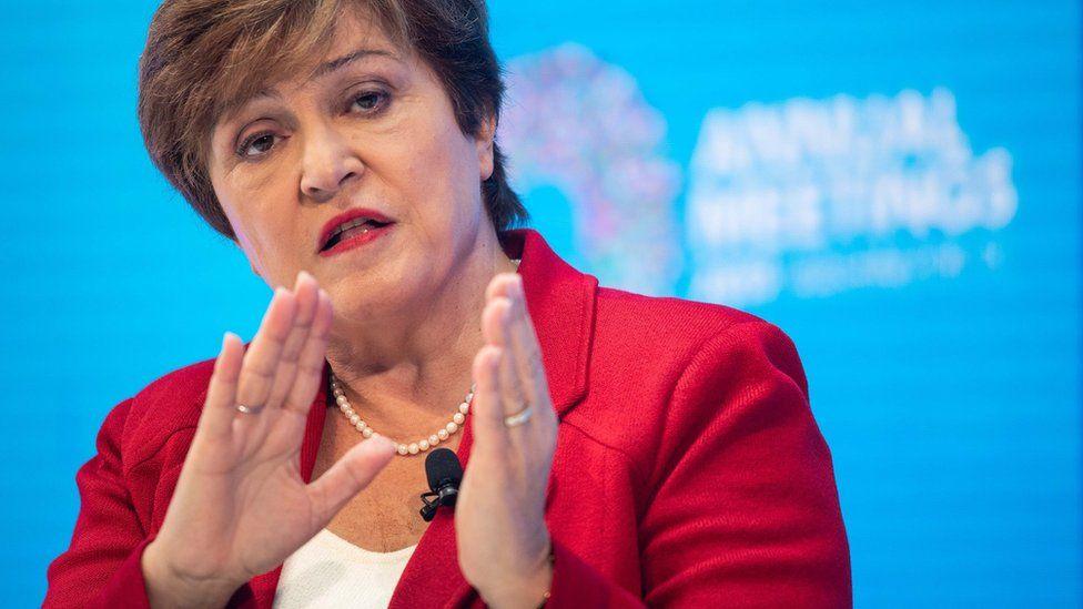Kristalina Georgieva, IMF,virus corona