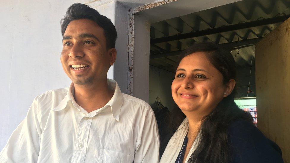 Ravindra and Shilpaba