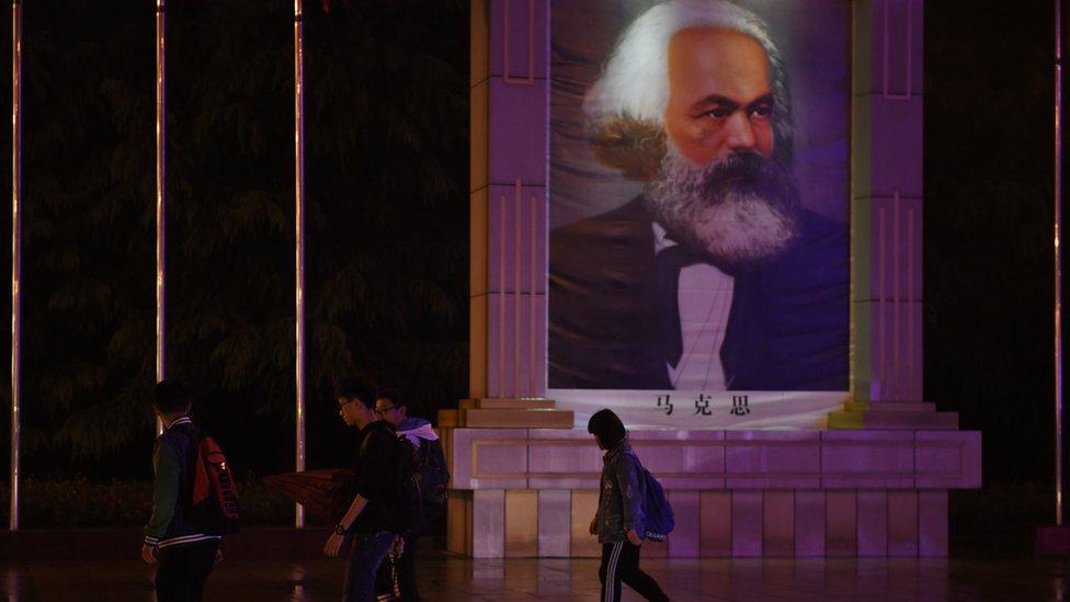 Çin'de bir meydan