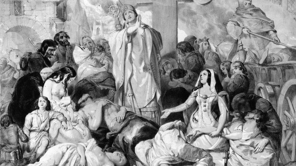 黑死病直接動搖了中世紀歐洲佃農制經濟的基礎