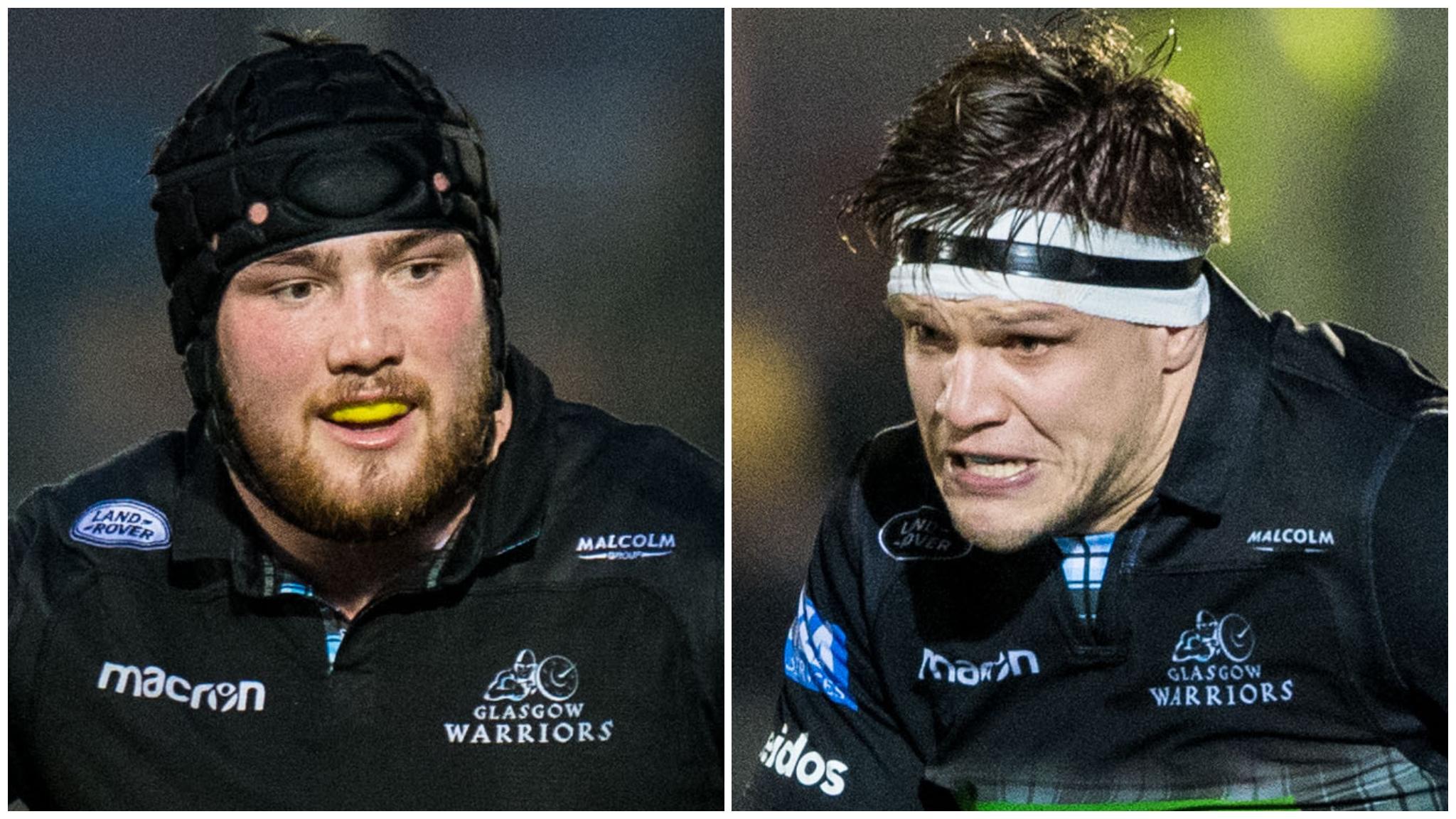 Scotland duo Fagerson & Turner come through Glasgow returns