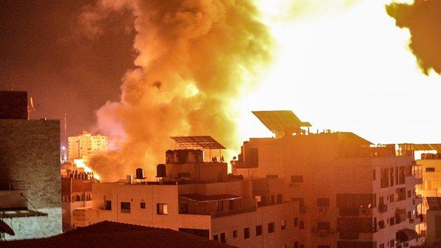 Ataques en Gaza