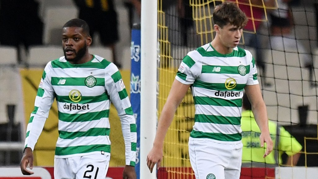 Celtic out of Champions League after 3-2 aggregate loss to AEK Athens