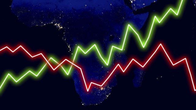 African economy graphic