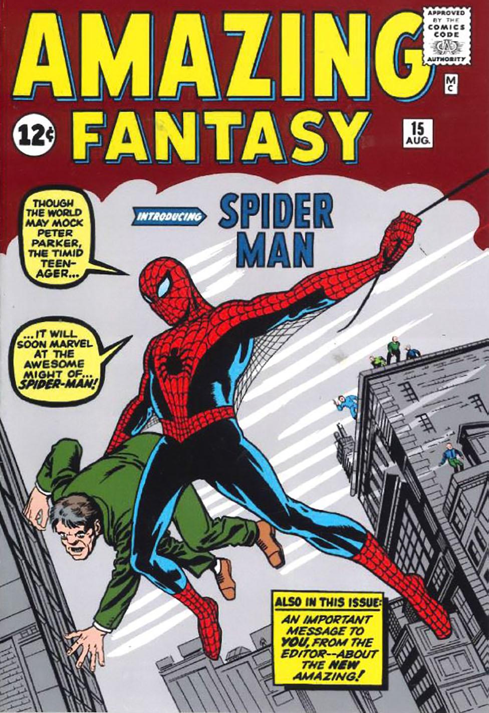 Portada del número 15 del cómic Amazing Fantasy