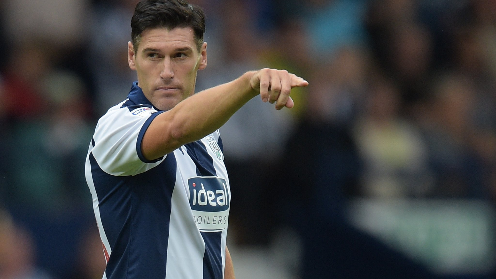 Barry plays, aged 37, for beaten West Brom U21s in Checkatrade Trophy