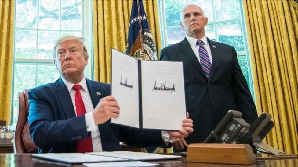 ترامب وبنس