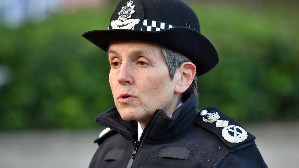 Met Police chief Cressida Dick
