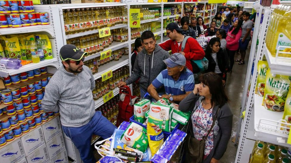 Supermercado en Santiago