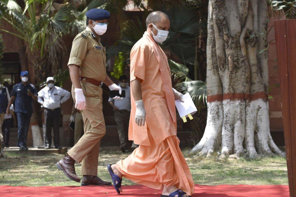 Jogi Adijanat, premijer Utar Pradeša