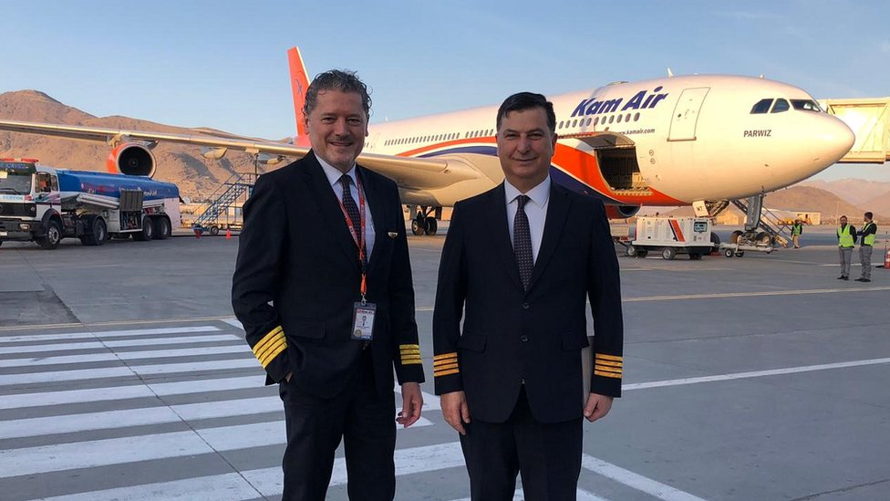 Pilots Vasileios Vasileiou and Michael Poulikakos