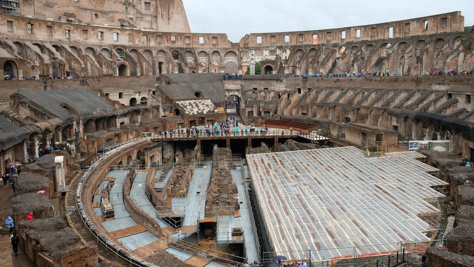 Italy seeks engineer to build new Colosseum floor thumbnail
