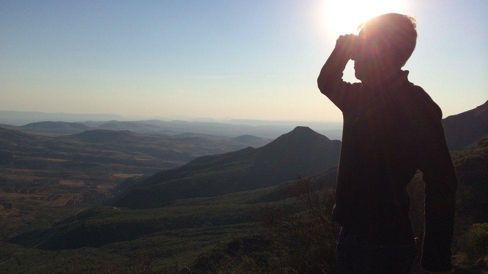 Andrew Harding in Lesotho