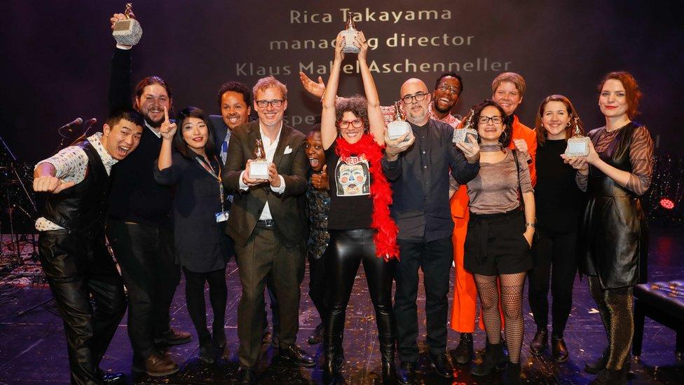 Ganadores del premio Teddy 2019.