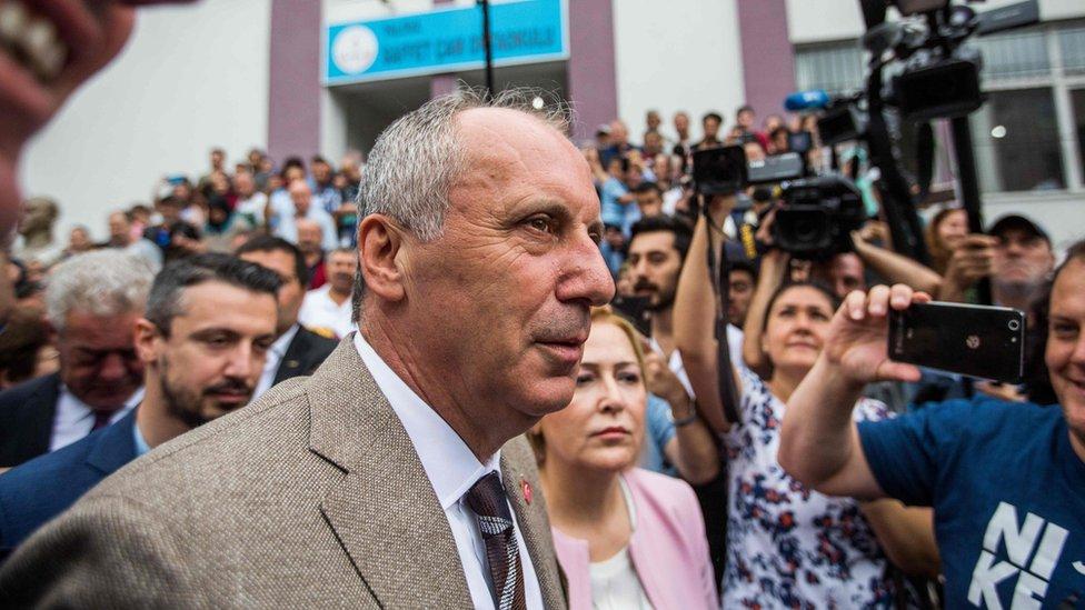 Muharem Indže, kandidat opozicije na turskim izborima