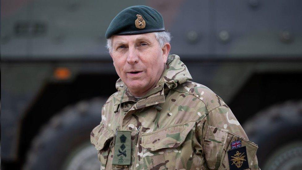 قال الجنرال السير نيك كارتر إن الدوق سيبقى في الذاكرة لاهتمامه بالقوات المسلحة