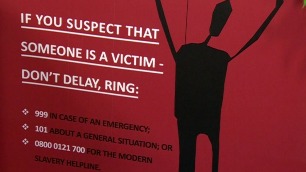 PSNI investigated 59 slavery/human trafficking cases last year