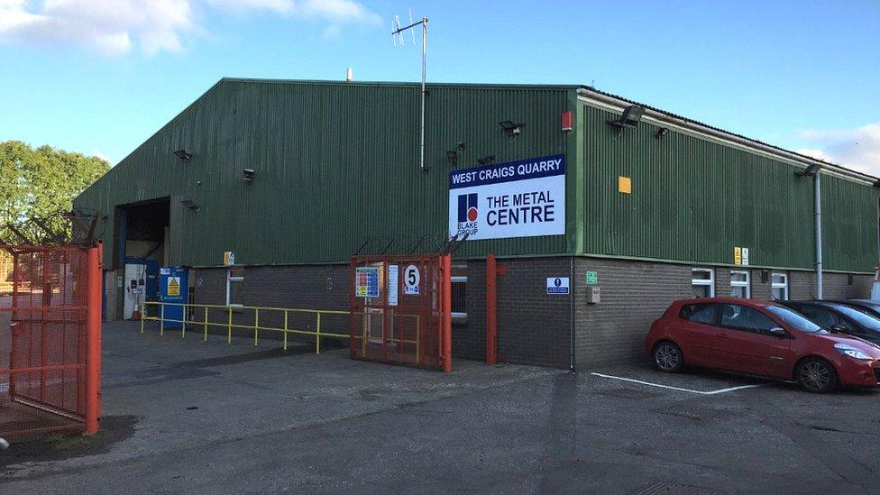 New Blake factory