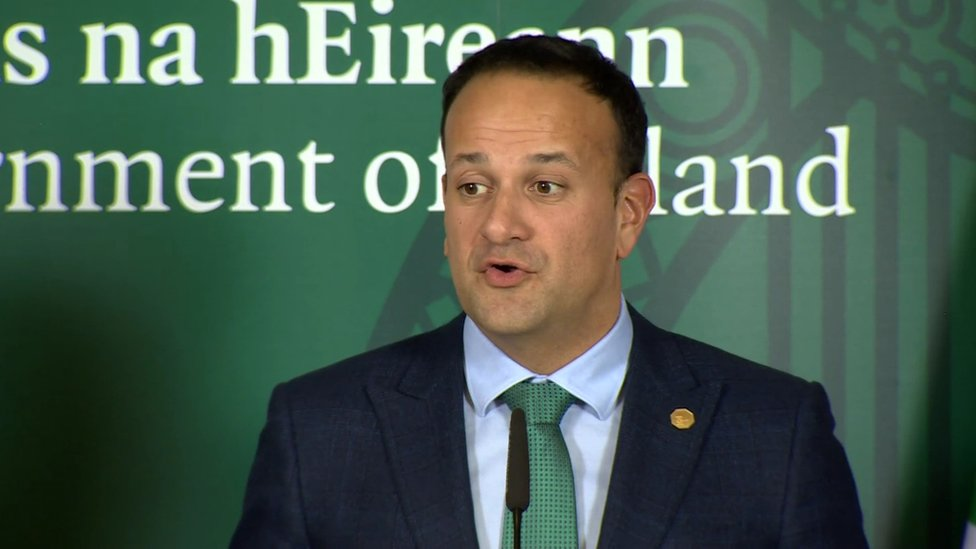 Varadkar: Fears over violence linked to a hard border 'very real'
