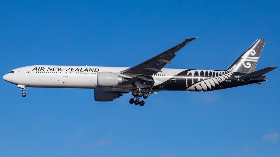 Air New Zealand Boeing