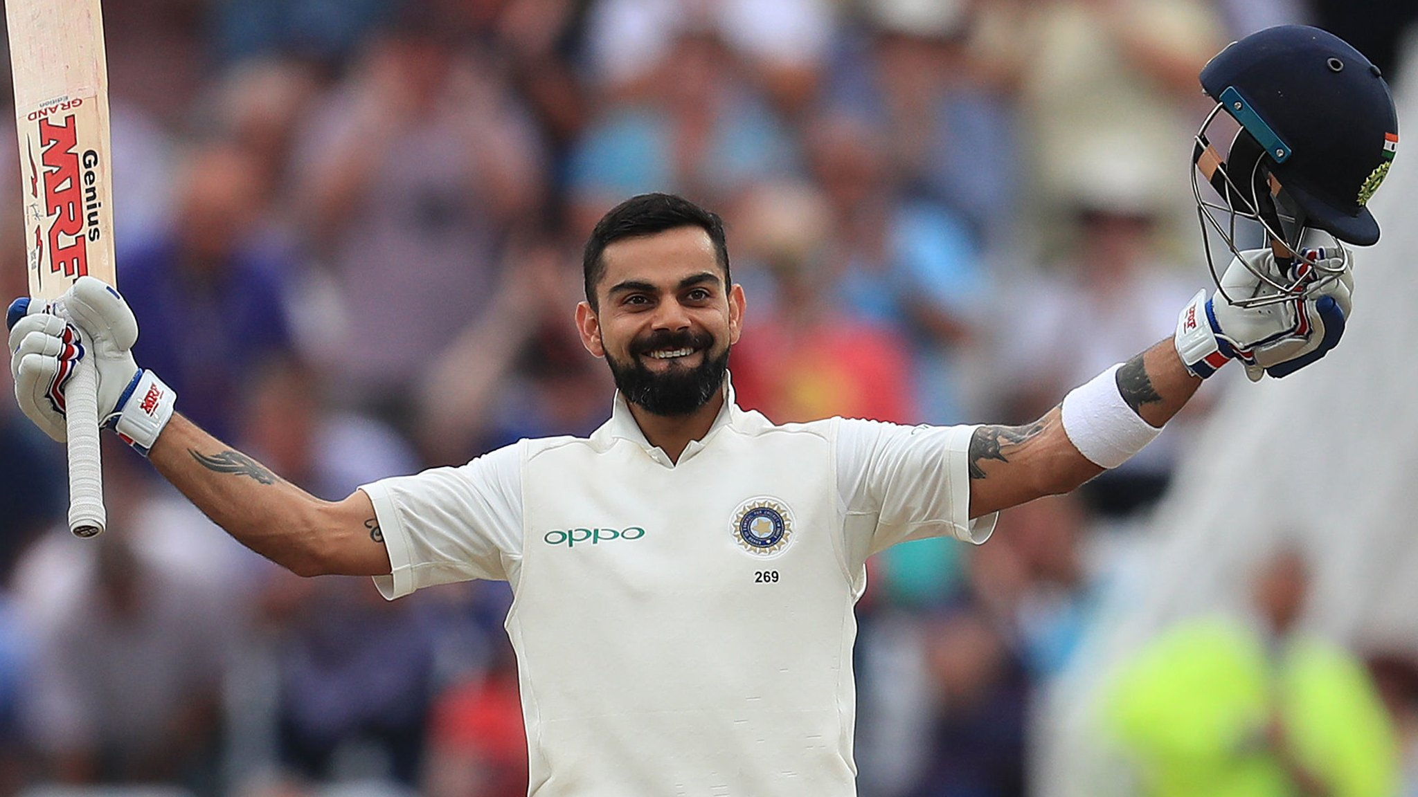 Kohli's ton leaves England facing battle to avoid defeat