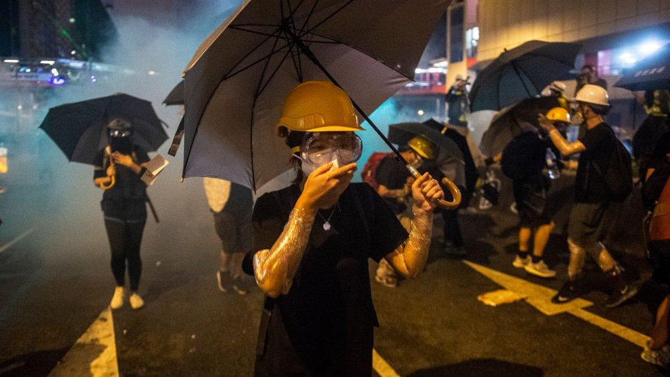 Hubo enfrentamientos violentos entre la policía y los manifestantes durante el fin de semana. Foto: 28 de julio.