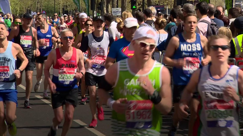 London Marathon marker dedicated to Stephen Lawrence