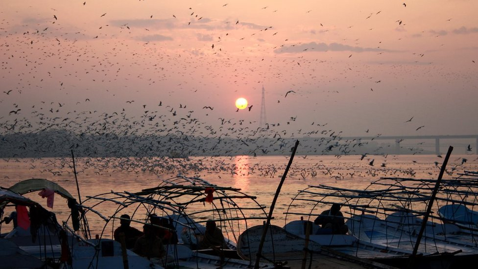Allahabad sunset