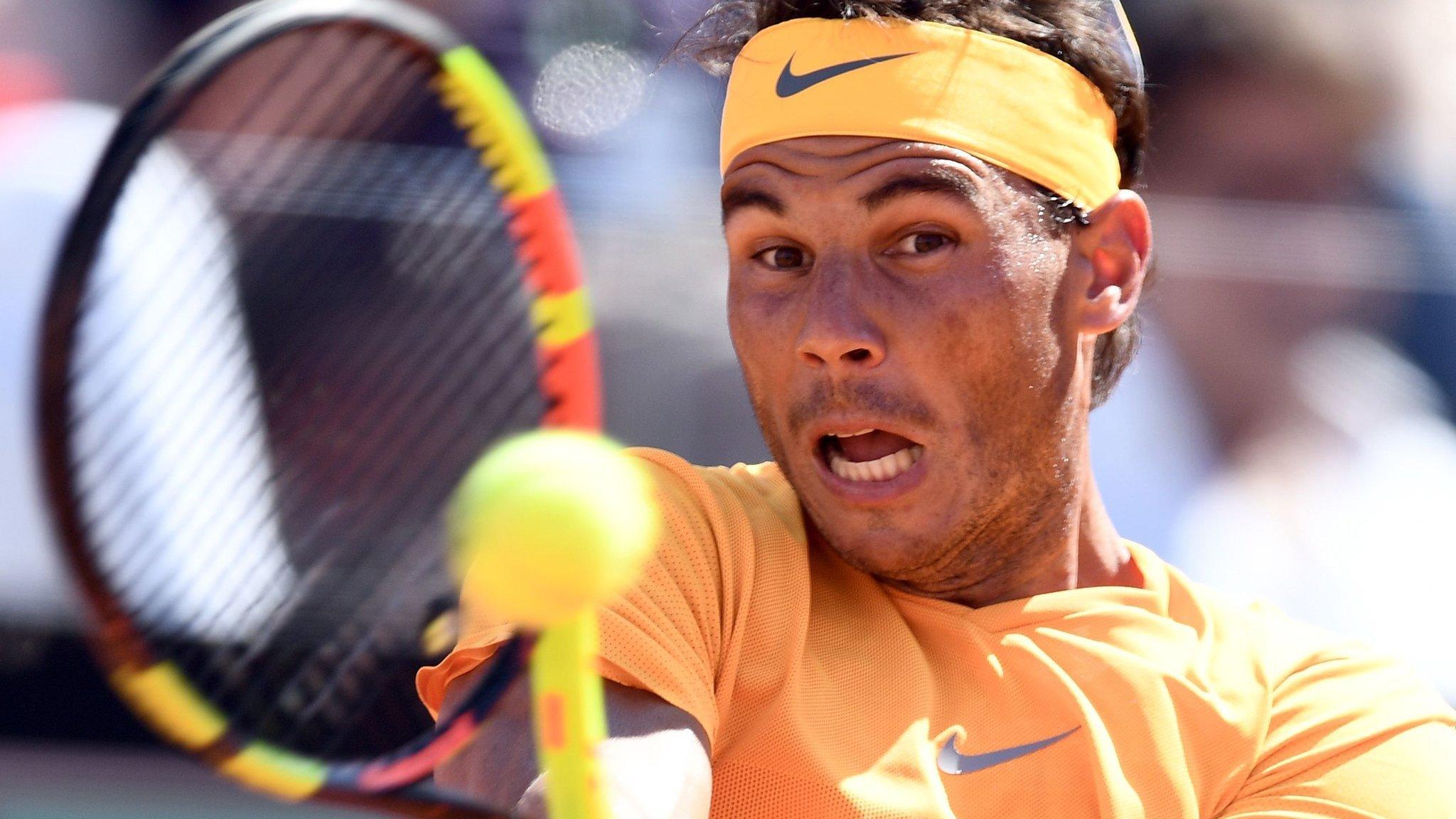 Italian Open: Rafael Nadal beats Novak Djokovic in semi-final