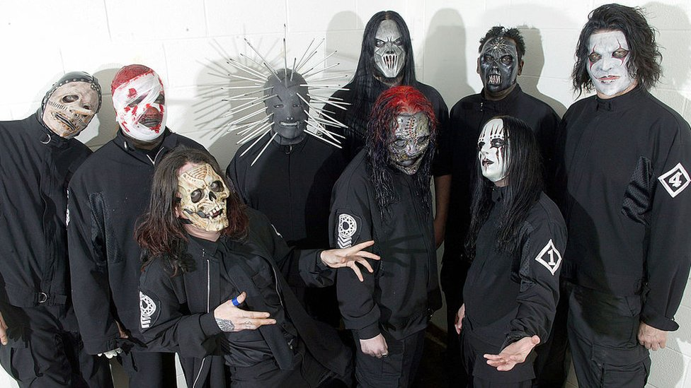 Slipknot en el 2000
