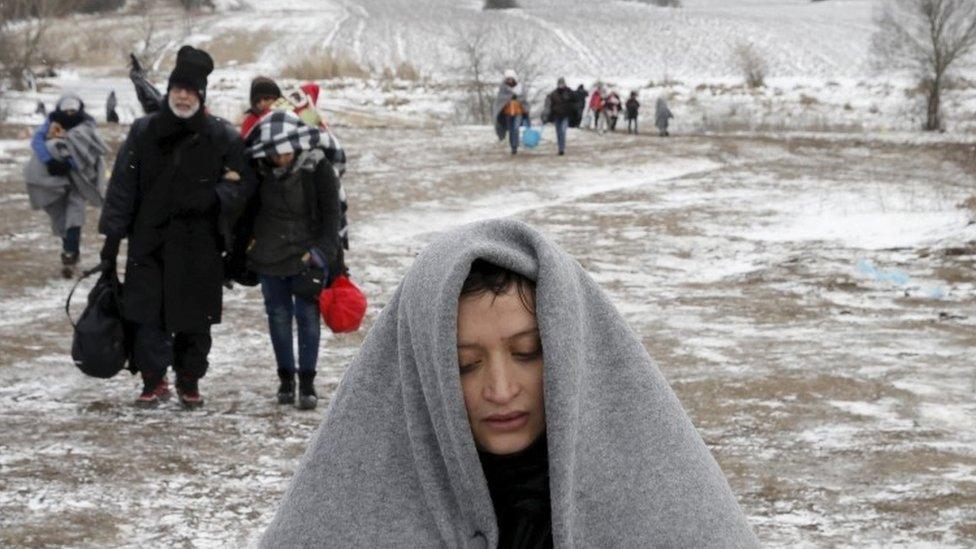 Migrants in the Balkans