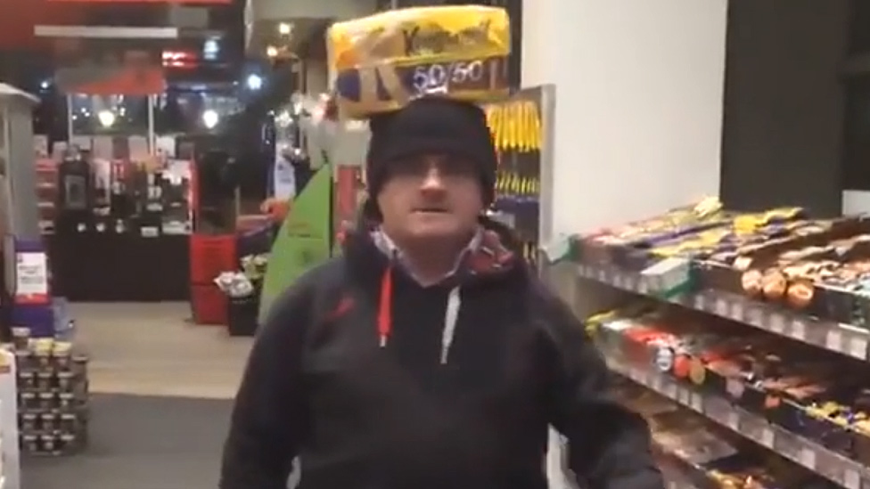 Barry McElduff in video