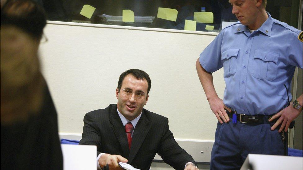 Ramuš Haradinaj, Hag, 14. mart 2005.