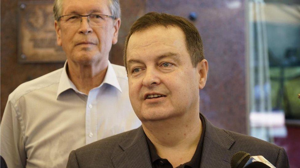 Dačić i Čepurin
