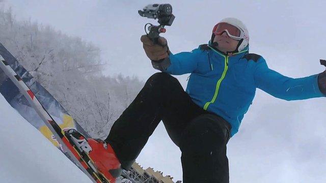 Ski Sunday presenter Graham Bell