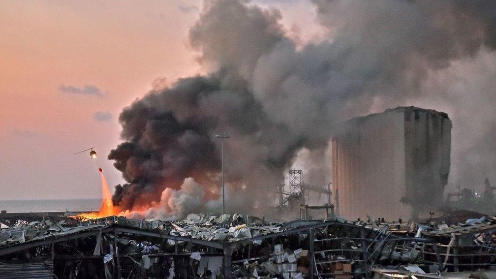 Судно, с которого конфисковали сдетонировавшую в Бейруте селитру, принадлежало россиянину