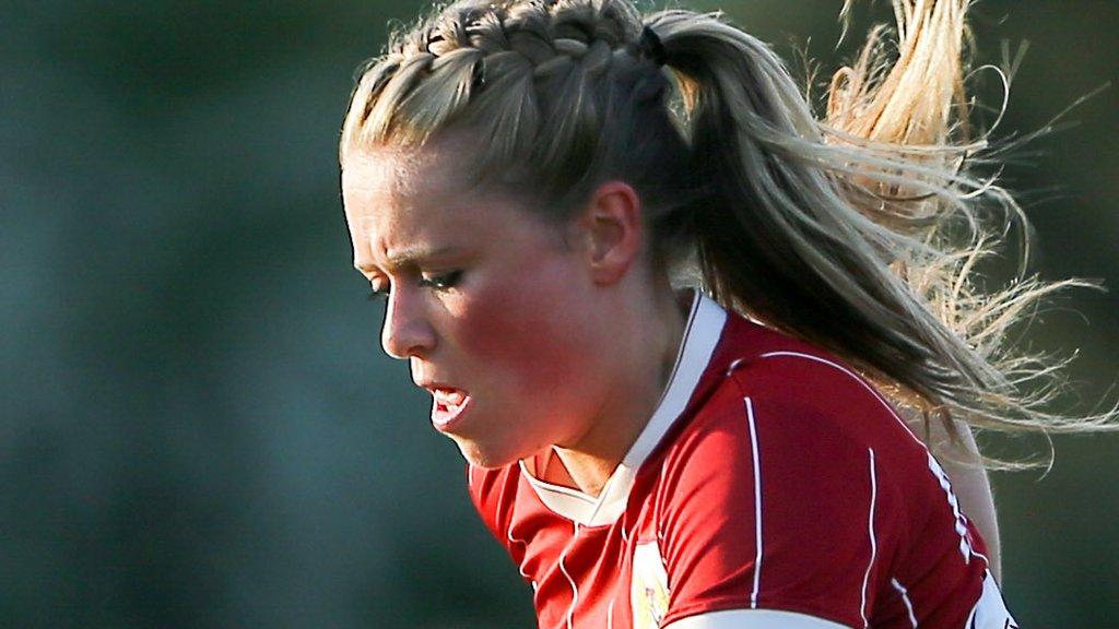 Millie Farrow: Reading Women sign Bristol City Women striker