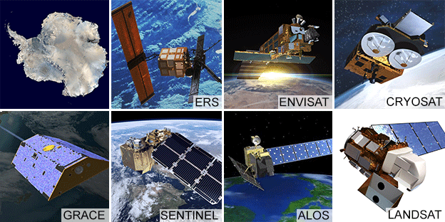 Satellite artwork