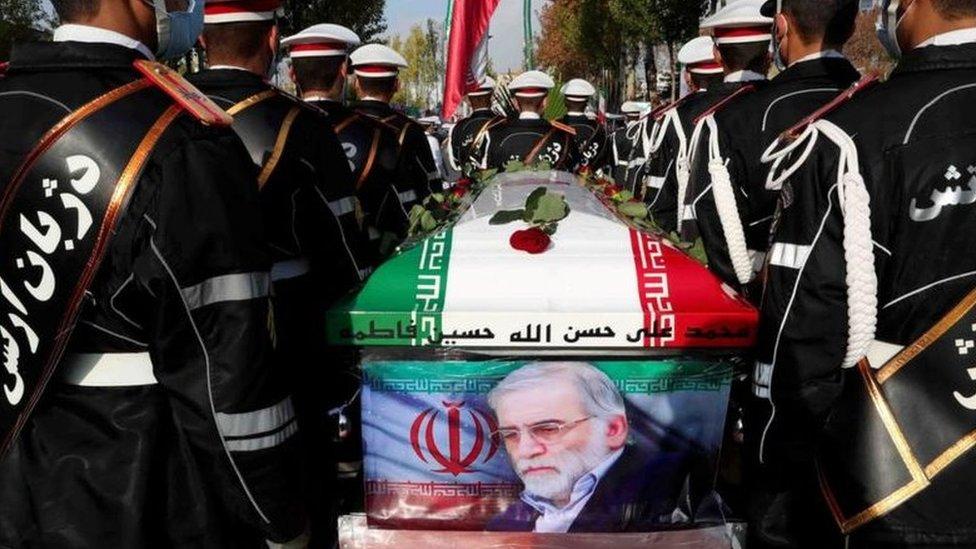 جنازة محسن فخري زادة