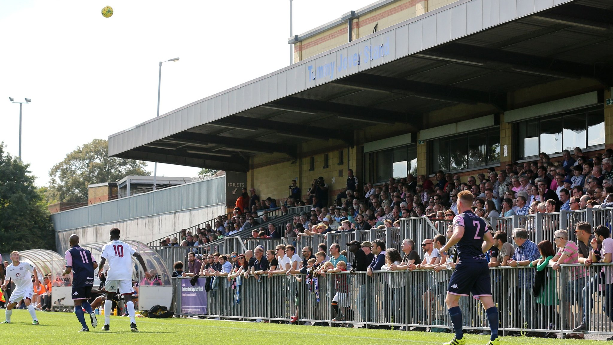 Dulwich Hamlet to return to Champion Hill in four to six weeks
