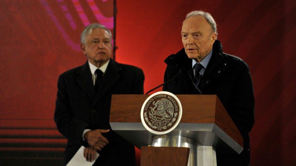 López Obrador y el fiscal Gertz Manero