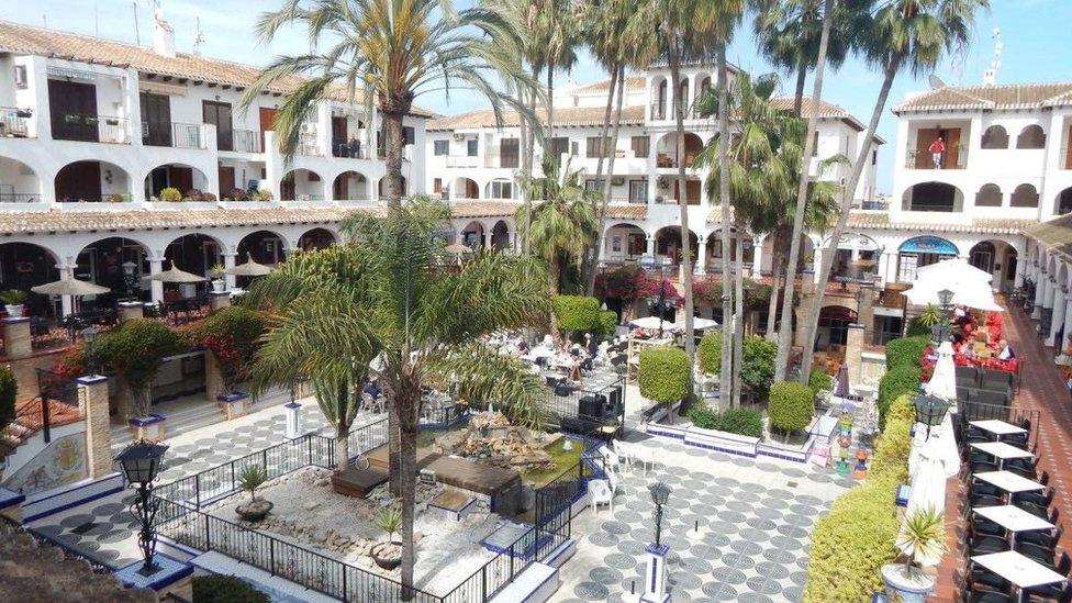 The square at Villamartin