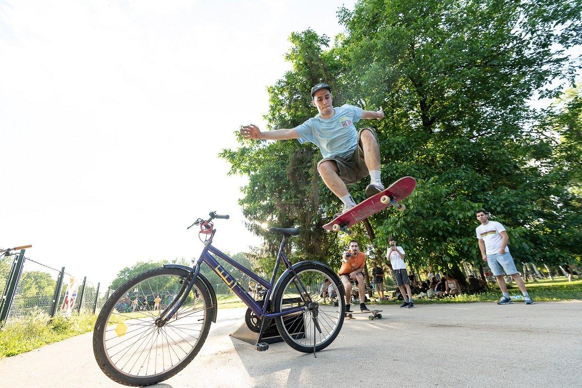 Skok preko bicikla? Nije problem!