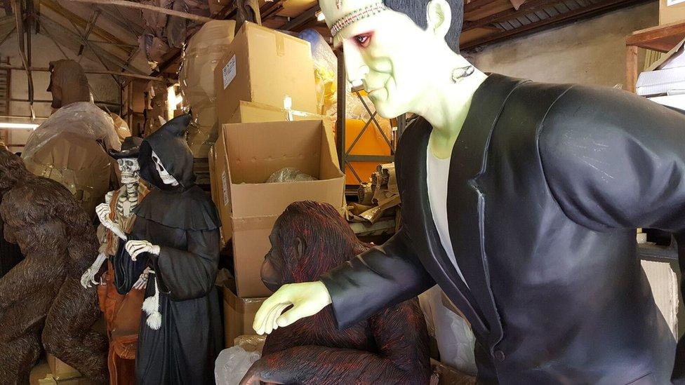 Alba Shed Frankenstein model